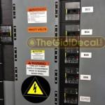 Dịch vụ cắt decal dán tủ điện, cáp viễn thông