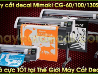 Máy cắt decal Mimaki CG-130SRIII (Nhật Bản)