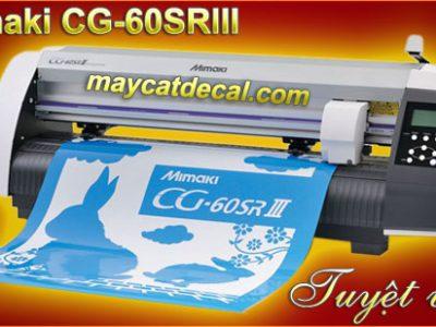 Máy cắt decal Mimaki CG-60SRIII (Nhật Bản)